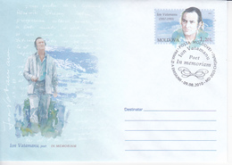 MOLDOVA , MOLDAVIE   MOLDAU ,  2010 , Poet I.Vatamanu , In Memoriam , Pre-paid Envelope - Moldova