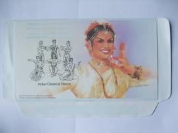 SINGAPORE - Aerogramme - Indian Classical Dance 35 Cents - Singapur (1959-...)