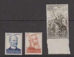 Belgisch Congo 1947 Slavenhandel 3w ** Mnh (40007H) - Belgisch-Kongo