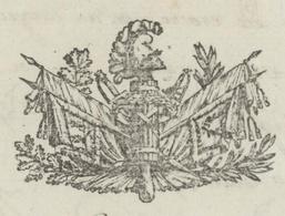Paris An 11 -8.2.1803 Ministère De La Guerre Matériel Du Génie Héraldique - Documentos Históricos