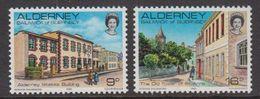 Alderney 1983 Definitives 2v ** Mnh (40012) - Alderney
