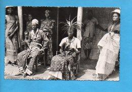 AEF 03 - Makoko, Roi Des Batéké Et Sa Famille - Gabon