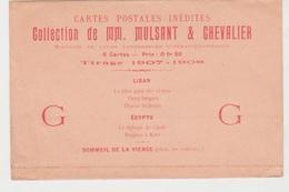 Enveloppe Publicitaire Cartes Postales Inédites MM MULSANT Et CHEVALIER - Altri