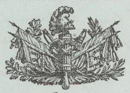 Paris An 11 - 8.12.1802 Premier Inspecteur Du Génie Service De Guerre Héraldique - Documentos Históricos