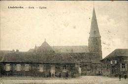 Liedekerke Kerk Met Afspanning De Kroon - Liedekerke