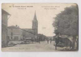 LIGNIERES AUX BOIS (55 - Meuse) - L'Eglise Et La Place - France