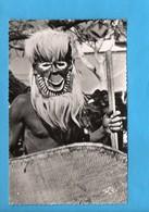 AEF 08 - Masque De Danse Batéké - Afrique - Gabon