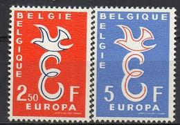 PIA - CEPT - 1958 - BELGIO  -  (Yv 1064-65) - Europa-CEPT