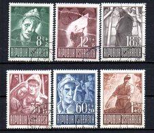 AUSTRIA 1947 CANCELLED  At - 1945-.... 2. Republik