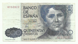 España - 500 Pesetas - 1979 - [ 4] 1975-… : Juan Carlos I