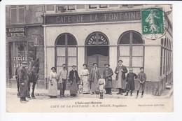 L'ISLE SUR SEREIN - CAFE DE LA FONTAINE - M.E. HUGOT, PROPRIETAIRE - 89 - L'Isle Sur Serein
