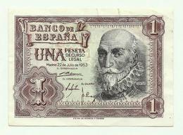 España - 1 Peseta - 1953 - UNC - 1-2 Pesetas