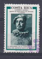Costa Rica 1977 Mi. 978     2.00 Col Gründung Der Stadt Esparza Diego De Artieda Y Chrino - Costa Rica