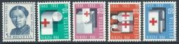 1963 SVIZZERA PRO PATRIA ANNA HEER CROCE ROSSA MNH ** - I59-3 - Pro Patria