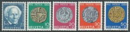 1964 SVIZZERA PRO PATRIA J.G. BODMER E MONETE ANTICHE MNH ** - I59-4 - Nuovi