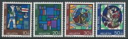 1970 SVIZZERA PRO PATRIA VETRATE DI ARTISTI MNH ** - I59-9 - Nuovi
