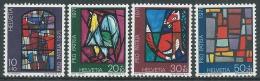 1971 SVIZZERA PRO PATRIA VETRATE DI ARTISTI MNH ** - I59-9 - Nuovi