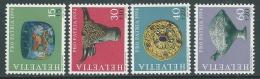 1974 SVIZZERA PRO PATRIA REPERTI ARCHEOLOGICI MNH ** - I58-8 - Nuovi