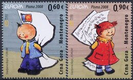 Europa 2008 - CRNA GORA Montenegro ** - Europa-CEPT