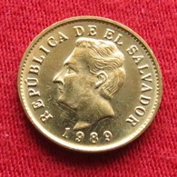 El Salvador 1 Centavo 1989 KM# 135.1a - Salvador