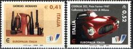 2003 - ITALIA - EUROPALIA - EMISSIONE CONGIUNTA CON BELGIO. MNH - Emissioni Congiunte