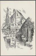 Harnham Bridge, Salisbury, Wiltshire, C.1904 - R R Edwards Postcard - Salisbury