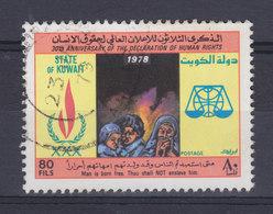 Kuwait 1978 Mi. 812    80 F Allgemeinen Erkla¨rung Der Menschenrechte - Kuwait
