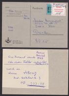 Arnsdorf Zettel Postamt 30 Pf Nachgebühr Unrechtmäßig Erhoben Auf ABC-Marke, Personal Wurde Unterrichtet- Selten!!- - DDR