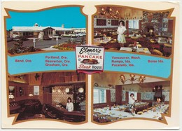 ELMER'S COLONIAL PANCAKE & STEAK HOUSE, Unused Postcard [21718] - Hotels & Restaurants
