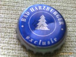 Chapa Kronkorken Caps Tappi Agua Mineral Bad Harzburguer. Alemania - Chapas Y Tapas