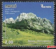 Bosnia Sarajevo - Maglic, The Highest Peak In Bosnia  2017 MNH - Bosnia And Herzegovina