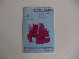 Tipografia A.C.Camacho, Lda Almada Portugal Portuguese Pocket Calendar 1996 - Small : 1991-00