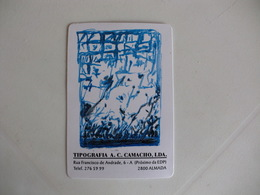 Tipografia A.C.Camacho, Lda Almada Portugal Portuguese Pocket Calendar 1998 - Small : 1991-00