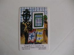 Tipografia A.C.Camacho, Lda Almada Portugal Portuguese Pocket Calendar 1997 - Small : 1991-00