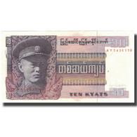 Billet, Birmanie, 10 Kyats, Undated (1973), KM:58, SUP - Myanmar