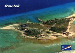 1 AK Marshall Islands * Blick Auf Die Insel Omelek Im Kwajalein Atoll - Luftbildaufnahme * - Marshall Islands
