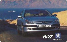 GRECIA KEY HOTEL Hyatt Regency Thessaloniki - Sixt - Peugeot 607 - Ambrosia - Cartes D'hotel