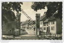 Bad Tennstedt - Brückentor - Foto-AK 50er Jahre - Bad Tennstedt
