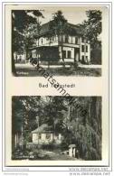 Bad Tennstedt - Kurhaus - Goethehaus - Foto-AK 50er Jahre - Bad Tennstedt