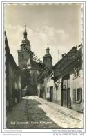 Bad Tennstedt - Kleine Kirchgasse - Foto-AK 50er Jahre - Bad Tennstedt