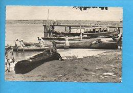 GAB 02 - Gabon - Port Gentil - Pêcheurs Arrivant Au Marché - Gabon