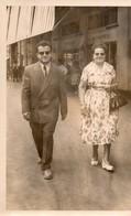 """""""ST AUGUSTIN  28 AOUT1960  CANEBIERE  MONOPRIX""""    Carte Photo - Lieux"""
