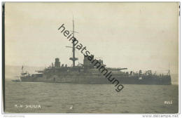 R. N. Sicilia - Foto-AK - Warships