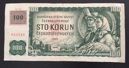Tchécoslovaquie Billet 1961 - Tchécoslovaquie