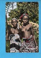 GAB 11 - Gabon - L'Afrique En Couleurs - Jeunes Filles Africaines - Nu Sein - Gabon