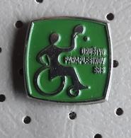 Paraplegic Society Of Slovenia  Section Table Tennis Pin - Table Tennis