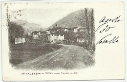 VALSESIA CROSA PRESSO VARALLO 1903 VIAGGIATA FP - Vercelli