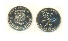 NOVA SCOTIA 1867 MAYFLOWER FLEUR DE MAI - Monetary /of Necessity
