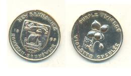NEW BRUNSWICK1867 PURPLE VIOLET - Monetary /of Necessity