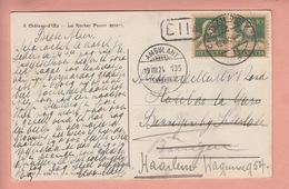 OUDE POSTKAART ZWITSERLAND  -  SCHWEIZ - SUISSE -   CHATEAU-D'OEX 1924 - VD Vaud